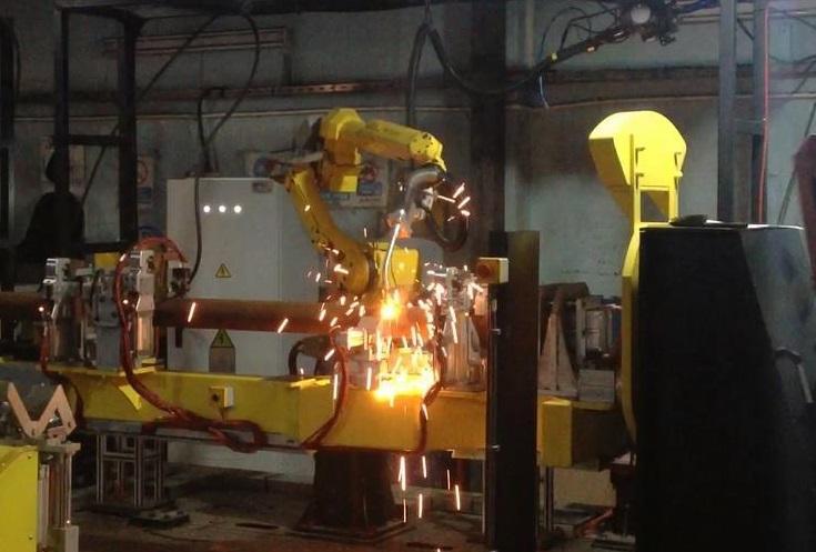 Atlantis Center Pivot Robot Kaynağı